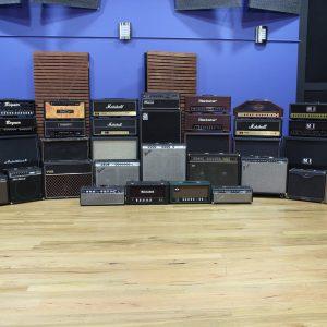 We had a few amps